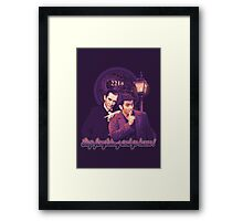 Stop Fangirling and Go Home! Framed Print