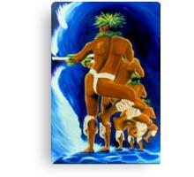 Kuʻi Ikaika Canvas Print