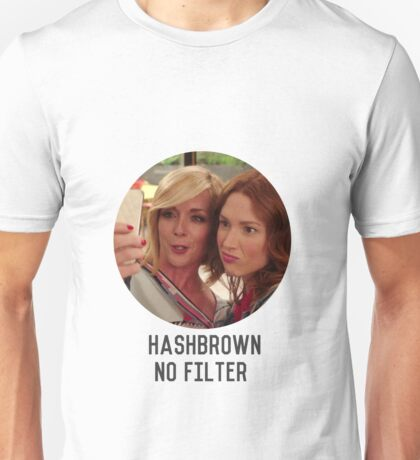 Hashbrown No Filter  Unisex T-Shirt