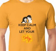 Keep Calm and Let Your Soul Glo! Unisex T-Shirt