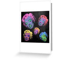 Vampire Marilyn 5b Greeting Card