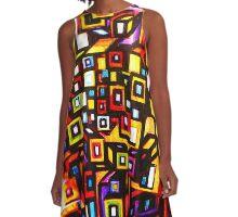 CUBE A-Line Dress