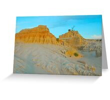 Mungo Formations # 2 Greeting Card