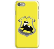 Hufflepuff Crest iPhone Case/Skin