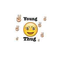 Thug emoji by Emojss