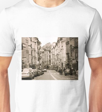 A Street in Paris Unisex T-Shirt