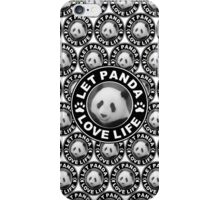 Let Panda love life iPhone Case/Skin