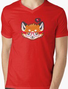 Nerdy Knitwear FOX - head only Mens V-Neck T-Shirt