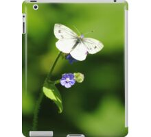 Forget-Me-Not Butterfly iPad Case/Skin