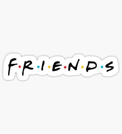 Friends (TV Show) - Logo Sticker