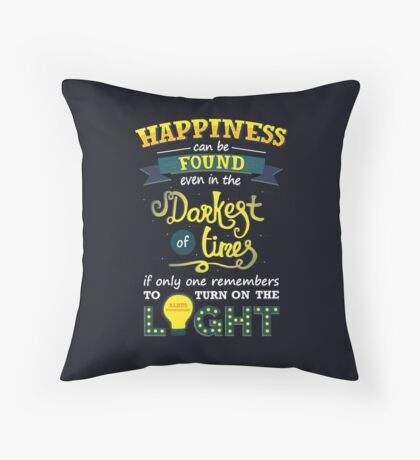 Happiness Can Be Found! Throw Pillow