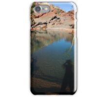 leaving my shadow spirit in the Pilbara iPhone Case/Skin