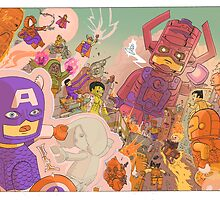 MARVELOUS BLOCKY by Ulises Farinas