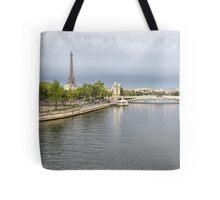 26  View Across the Seine Tote Bag