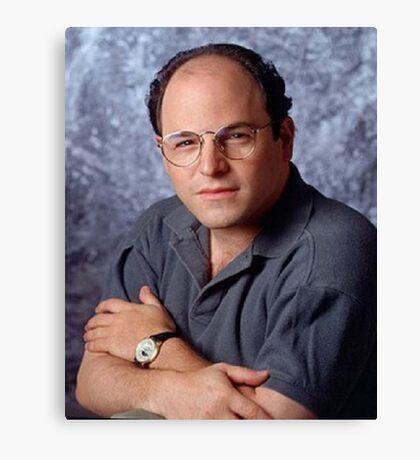 George Costanza Portrait Seinfeld Canvas Print