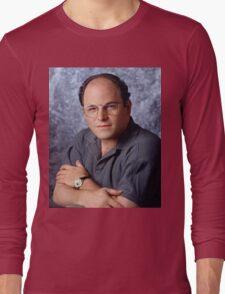George Costanza Portrait Seinfeld Long Sleeve T-Shirt