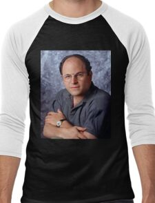 George Costanza Portrait Seinfeld Men's Baseball ¾ T-Shirt