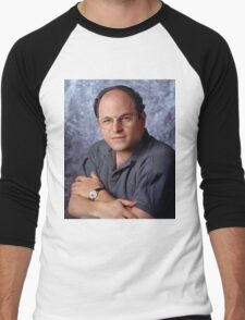 George Costanza Portrait Seinfeld Men's Baseball ¾ T-Shirt