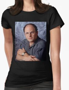 George Costanza Portrait Seinfeld Womens Fitted T-Shirt