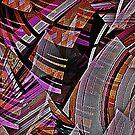 Cubist Mountain Range by George Hunter