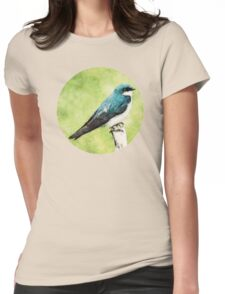 Blue Bird Womens Fitted T-Shirt