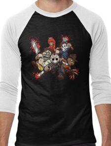 SUPER MANIAC WORLD Men's Baseball ¾ T-Shirt