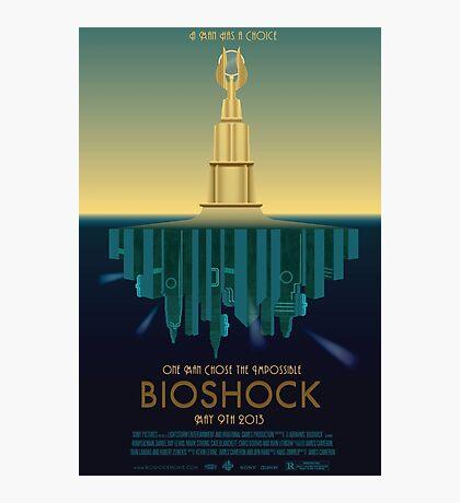 Bioshock Faux Movie Poster Photographic Print