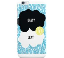 The Fault in Our Stars Typography iPhone Case/Skin