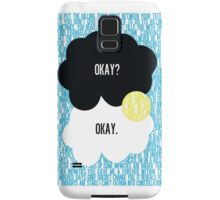 The Fault in Our Stars Typography Samsung Galaxy Case/Skin