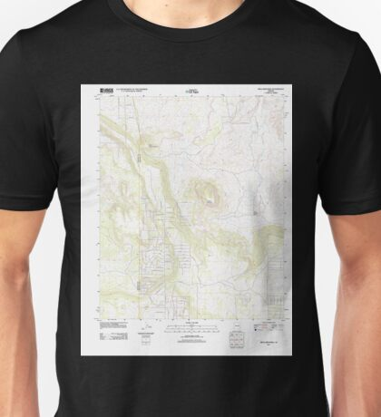 USGS TOPO Map Arizona AZ Mesa Redonda 20111103 TM Unisex T-Shirt