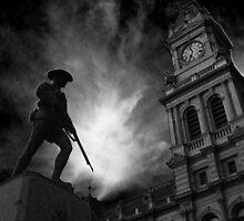 Dawn of the Soldier by sarsie