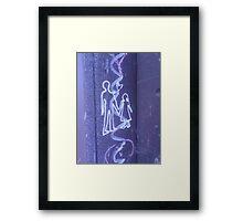 Tagger Love Framed Print