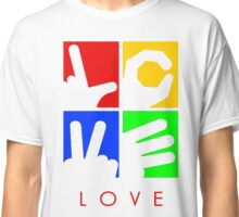 Love Hand Sign Classic T-Shirt
