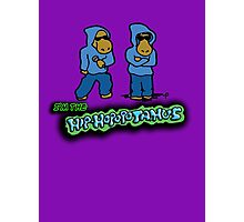 The Flight of the Conchords - The Hiphopopotamus Photographic Print