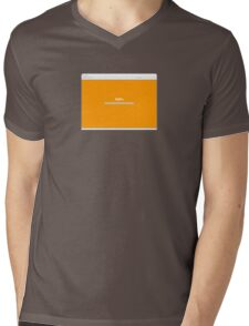 100% Progress Mens V-Neck T-Shirt
