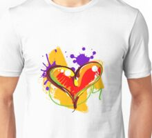 Red-ish Heart [2] Unisex T-Shirt