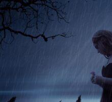 It Shall Rain Upon My Heart All Night Sticker