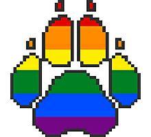Paw Print: Homosexual.  Photographic Print