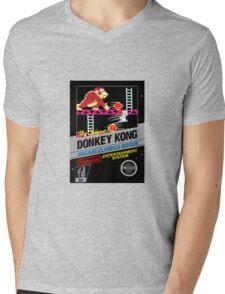 Donkey Kong Mens V-Neck T-Shirt