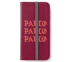 The Life Of Pablo iPhone Wallet/Case/Skin