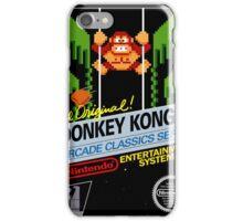 Donkey Kong 3 iPhone Case/Skin