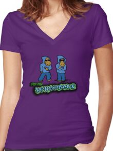 The Flight of the Conchords - The Hiphopopotamus Women's Fitted V-Neck T-Shirt
