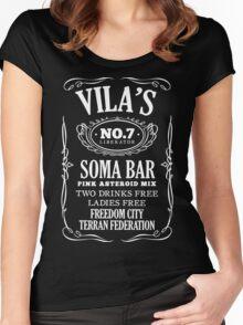 Blake's 7   Vila's Soma Women's Fitted Scoop T-Shirt