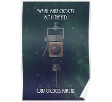Bioshock Minimalism EVE Poster