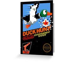 DuckHunt Greeting Card