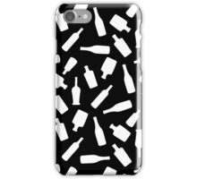 Black and White Bottles iPhone Case/Skin