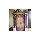 Balinese Wooden Door by Coralie Alison