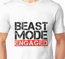 Beast Mode Engaged - Gym Phrase Unisex T-Shirt