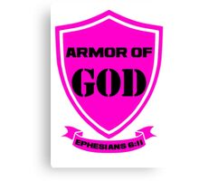 Armor of God - Ephesians 6:11 Canvas Print