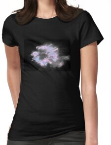Pink & Grey Outer space. Exclusive Original  Surreal and Abstract  Photo Art. Womens Fitted T-Shirt